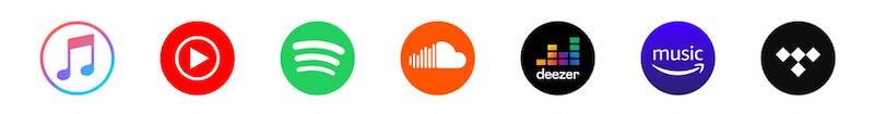 gewerbliche nutzung streaming dienst spotify tidal amazon-music apple-music soundcloud youtube-music deezer