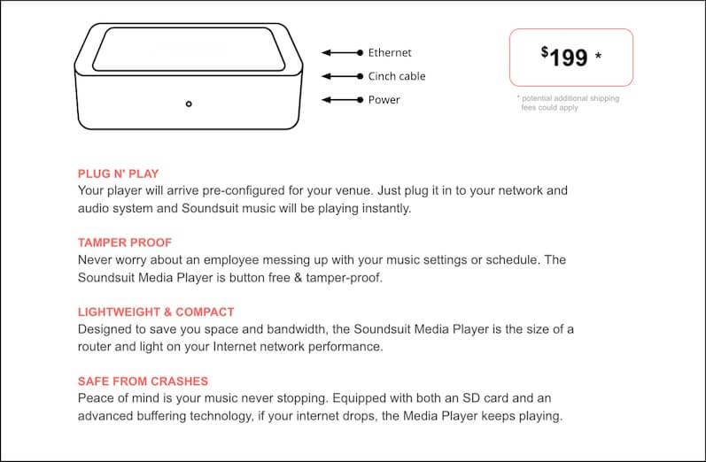 Soundsuit Media Player