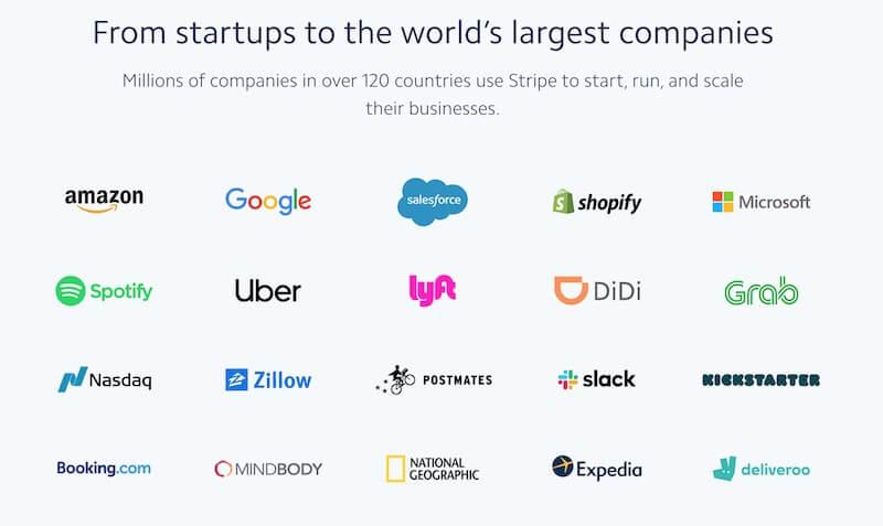 Streifen, dem weltweit führende Unternehmen sowie Soundsuit vertrauen