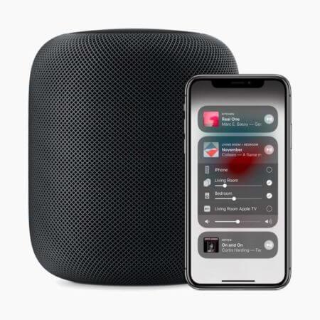 Streamen Sie Soundsuit-Musik über Airplay 2 zu Apple Homepod-Lautsprechern