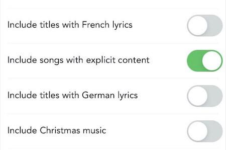 Soundsuit filtert explizite Inhalte und Texte mit einem Klick